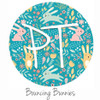 "12""x12"" Patterned Heat Transfer Vinyl - Bouncing Bunnies"