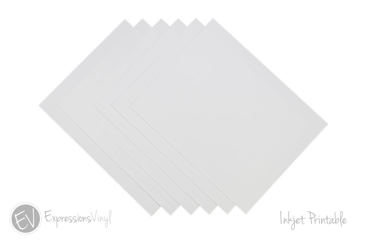 photograph about Glossy Printable Vinyl referred to as Inkjet Printable Vinyl Sheets