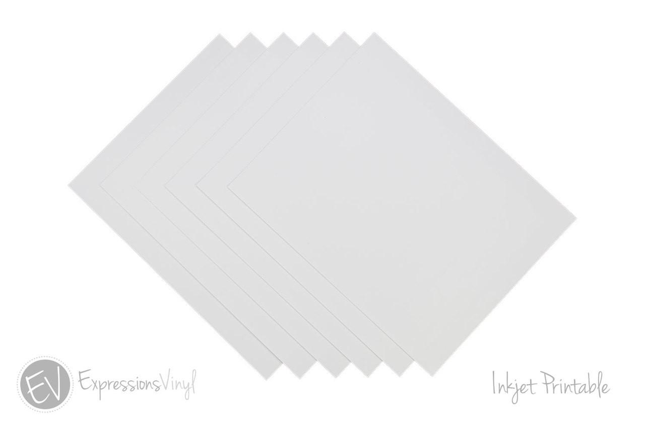 Inkjet Printable Vinyl Sheets Expressions Vinyl