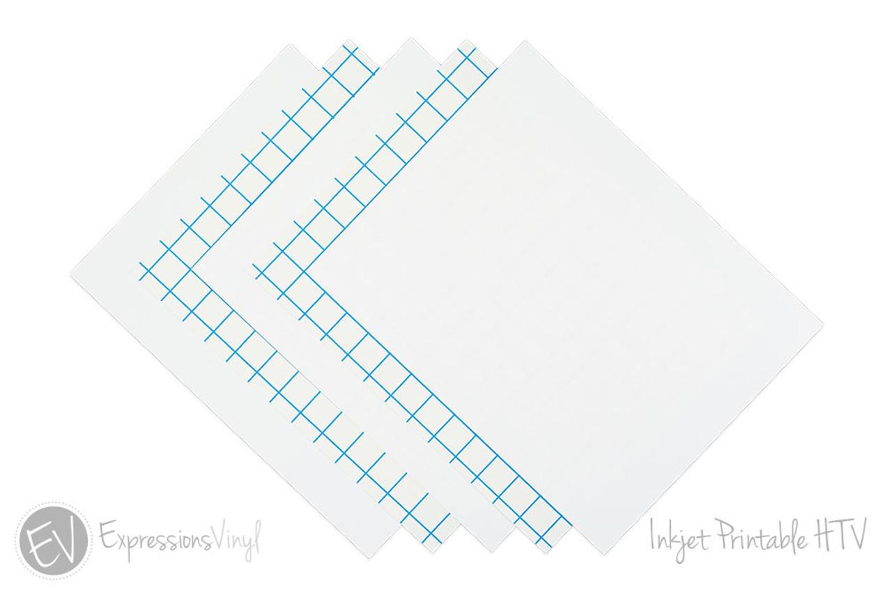 8 5 X 11 Inkjet Printable Heat Transfer Vinyl
