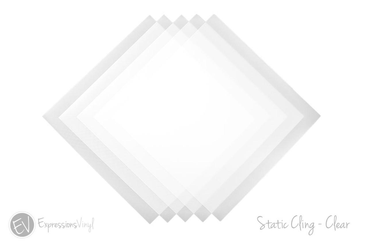image relating to Printable Static Cling Vinyl named Static Hold Vinyl 12\