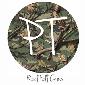 Patterned Vinyl - Real Fall Camo Swatch