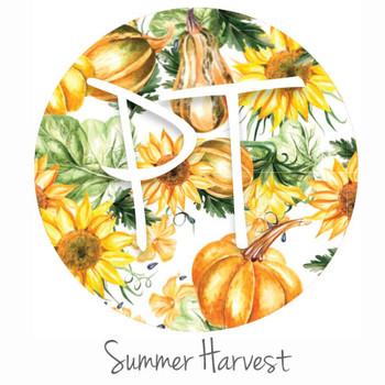 "12""x12"" Permanent Patterned Vinyl Swatch - Summer Harvest"