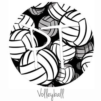 "12""x12"" Patterned Heat Transfer Vinyl - Volleyball"