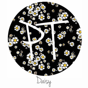 "12""x12"" Permanent Patterned Vinyl - Daisy"