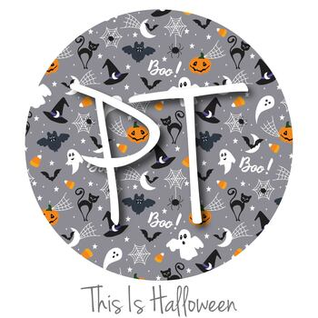 "12""x12"" Patterned Heat Transfer Vinyl - This Is Halloween"