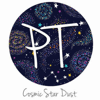 "12""x12"" Patterned Heat Transfer Vinyl - Cosmic Star Dust"