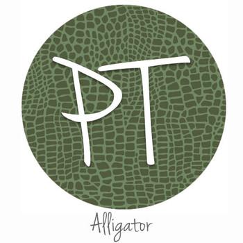 "12""x12"" Permanent Patterned Vinyl - Alligator"