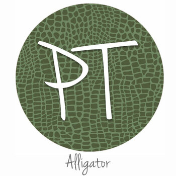"12""x12"" Patterned Heat Transfer Vinyl - Alligator"