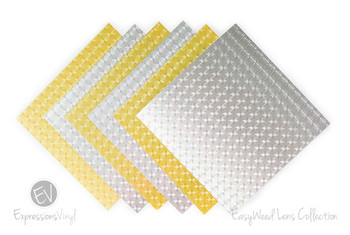 "EasyWeed Lens 12""X15"" Heat Transfer Vinyl Sheets"