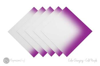 Color Changing Vinyl - Cold Purple