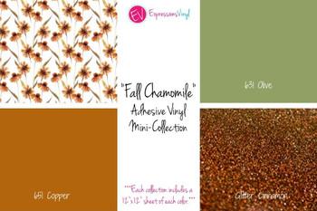Fall Chamomile - Adhesive Vinyl Mini-Collection