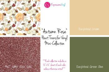 Autumn Rose - Heat Transfer Mini-Collection