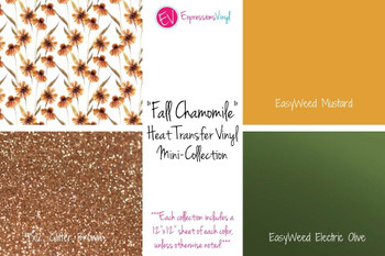 Fall Chamomile - Heat Transfer Mini-Collection