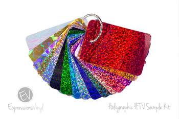 Holographic Heat Transfer - Color Sample Kit