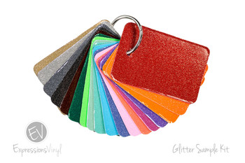 Glitter Vinyl - Color Sample Kit