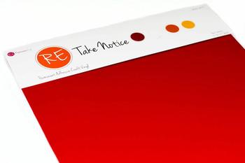 Take Notice Pack - Reflective Adhesive Vinyl
