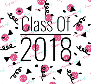 Class of 2018 Digital Cut File