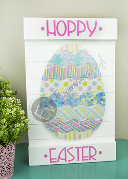 Easter Egg Digital Cut File