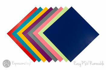 "EasyPSV Removable 12""x12"" Sheets"