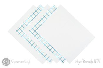 """8.5""""x11"""" Inkjet Printable HTV - For Light AND Dark Fabrics"""