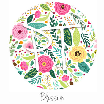 "12""x12"" Permanent Patterned Vinyl - Blossom"