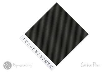 "12""x12"" Permanent Patterned Vinyl - Carbon Fiber"