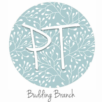 "12""x12"" Patterned Heat Transfer Vinyl - Budding Branch"