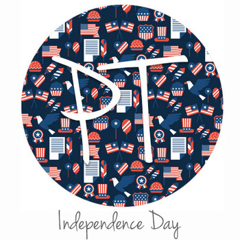 """12""""x12"""" Permanent Patterned Vinyl - Independence Day"""