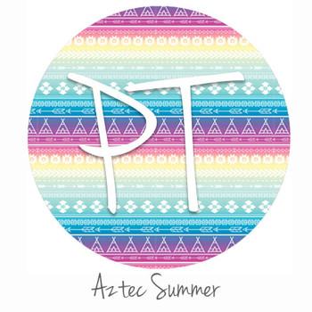 "12""x12"" Permanent Patterned Vinyl - Aztec Summer"