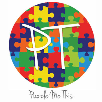 "12""x12"" Permanent Patterned Vinyl - Puzzle Me This"