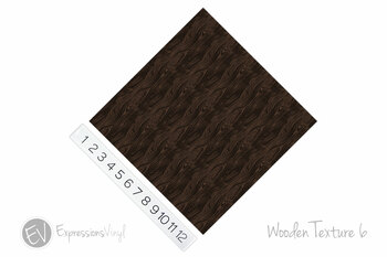"12""x12"" Permanent Patterned Vinyl - Wooden Texture 6"
