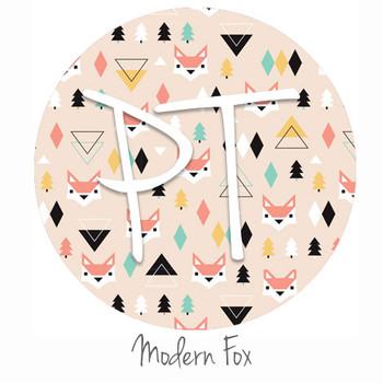"12""x12"" Patterned Heat Transfer Vinyl - Modern Fox"