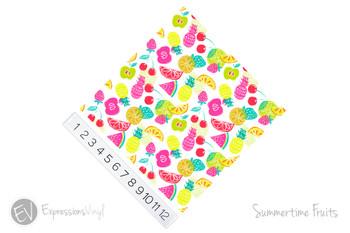 Patterned Vinyl - Summertime Fruits