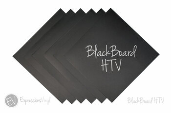 "BlackBoard HTV 12""x12"" Sheet"