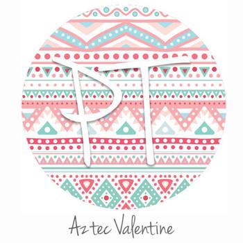 "12""x12"" Patterned Heat Transfer Vinyl - Aztec Valentine"