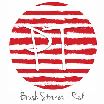 "12""x12"" Patterned Heat Transfer Vinyl - Brush Strokes - Red"