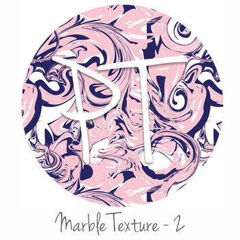 "12""x12"" Patterned Heat Transfer Vinyl - Marble Texture 2"