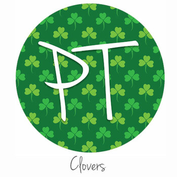 "12""x12"" Permanent Patterned Vinyl - Clovers"
