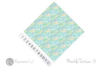 "12""x12"" Permanent Patterned Vinyl - Marble Texture 3"