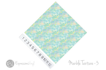 "12""x12"" Patterned Heat Transfer Vinyl - Marble Texture 3"