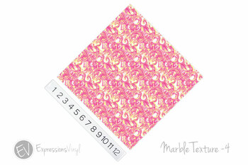 "12""x12"" Patterned Heat Transfer Vinyl - Marble Texture 4"