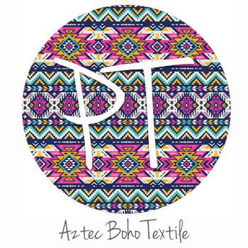 "12""x12"" Permanent Patterned Vinyl - Aztec Boho Textile"