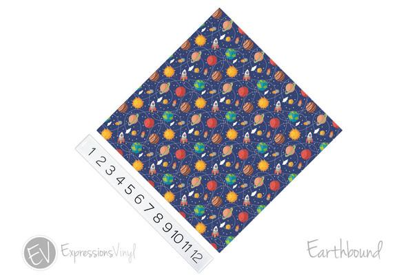 "12""x12"" Patterned Heat Transfer Vinyl - Earthbound"