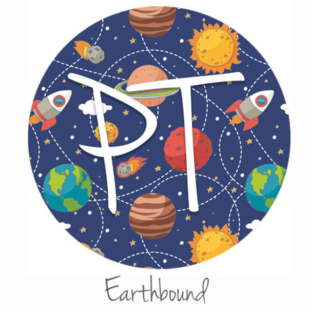 """12""""x12"""" Permanent Patterned Vinyl - Earthbound"""
