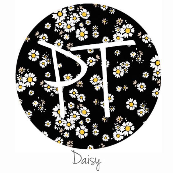 "12""x12"" Permanent Patterned Vinyl - Daisy"