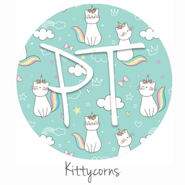 "12""x12"" Permanent Patterned Vinyl - Kittycorns"