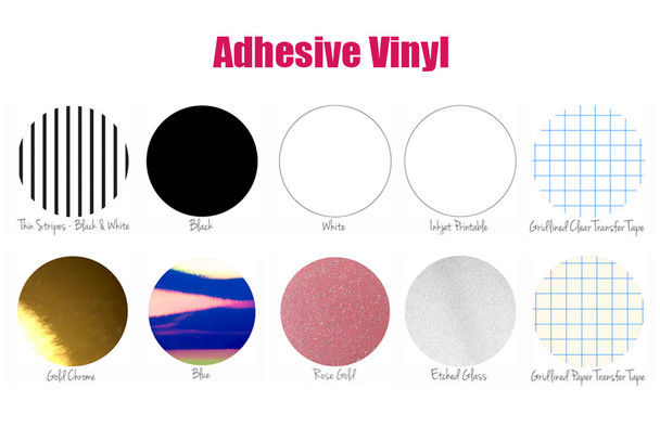 Vinyl Basics Box - Adhesive Vinyl