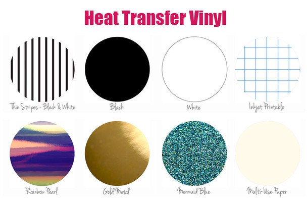Vinyl Basics Box - Heat Transfer Vinyl