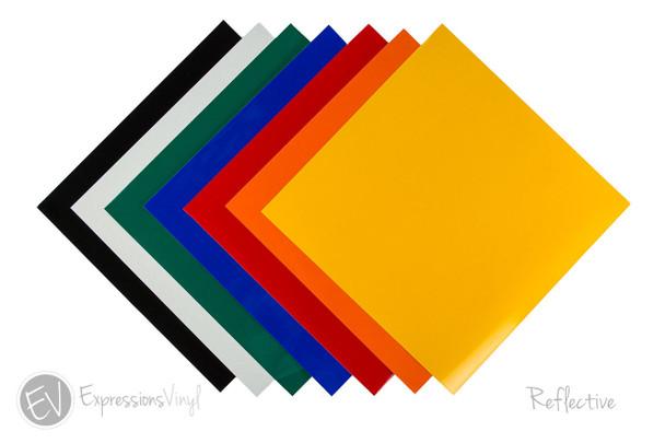 """Reflective Vinyl 12""""x24"""" Sheets"""
